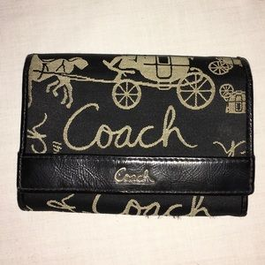Coach Horse & Carriage Bifold Wallet